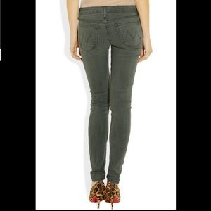 Mother The Looker Skinny Jeans in Fantasy Forest